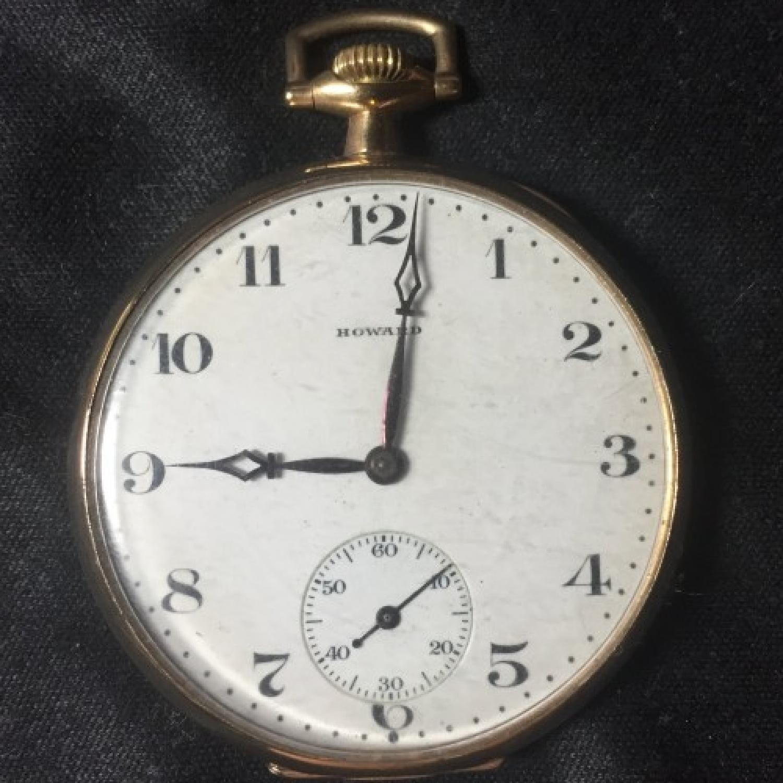 Image of E. Howard Watch Co. (Keystone) Series 7 #1298580 Dial