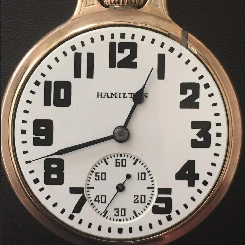 Image of Hamilton 992 #2511204 Dial