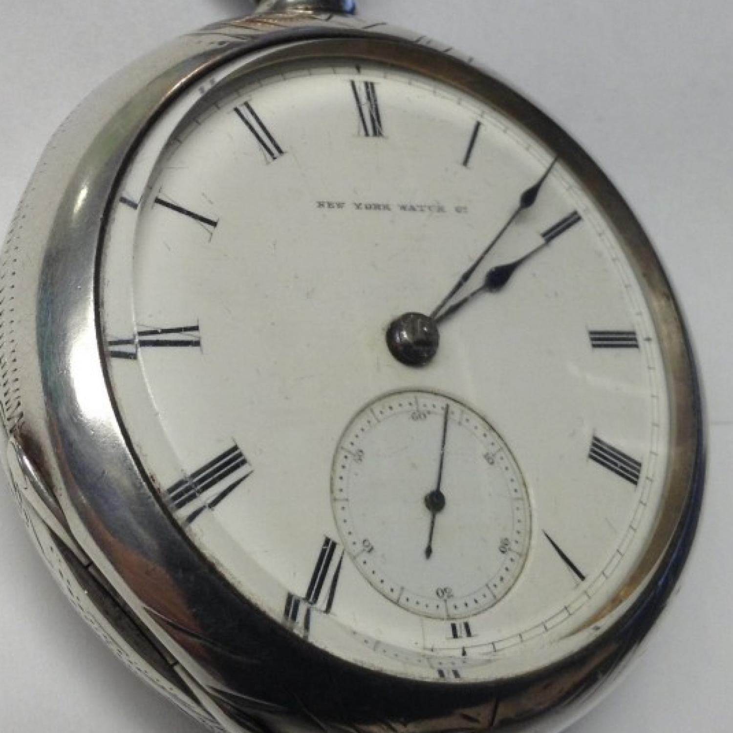Image of New York Springfield Watch Co. Chas Hayward #46367 Dial