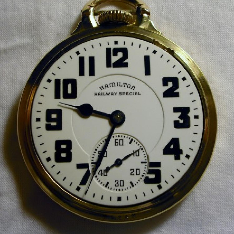 Image of Hamilton 992B #C3150 Dial