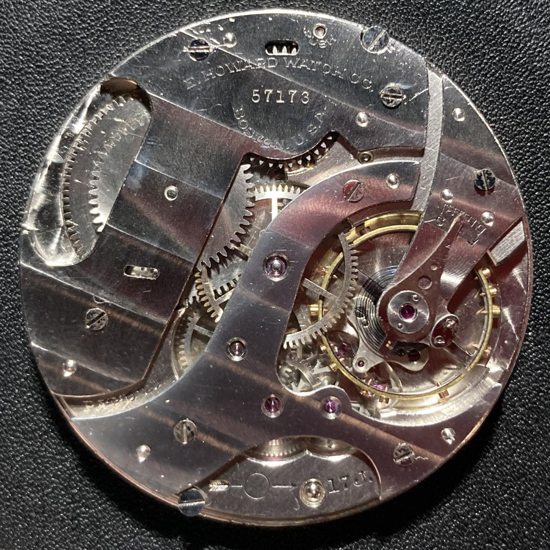 Image of E. Howard Watch Co. (Keystone) Series 12 #57170 Movement