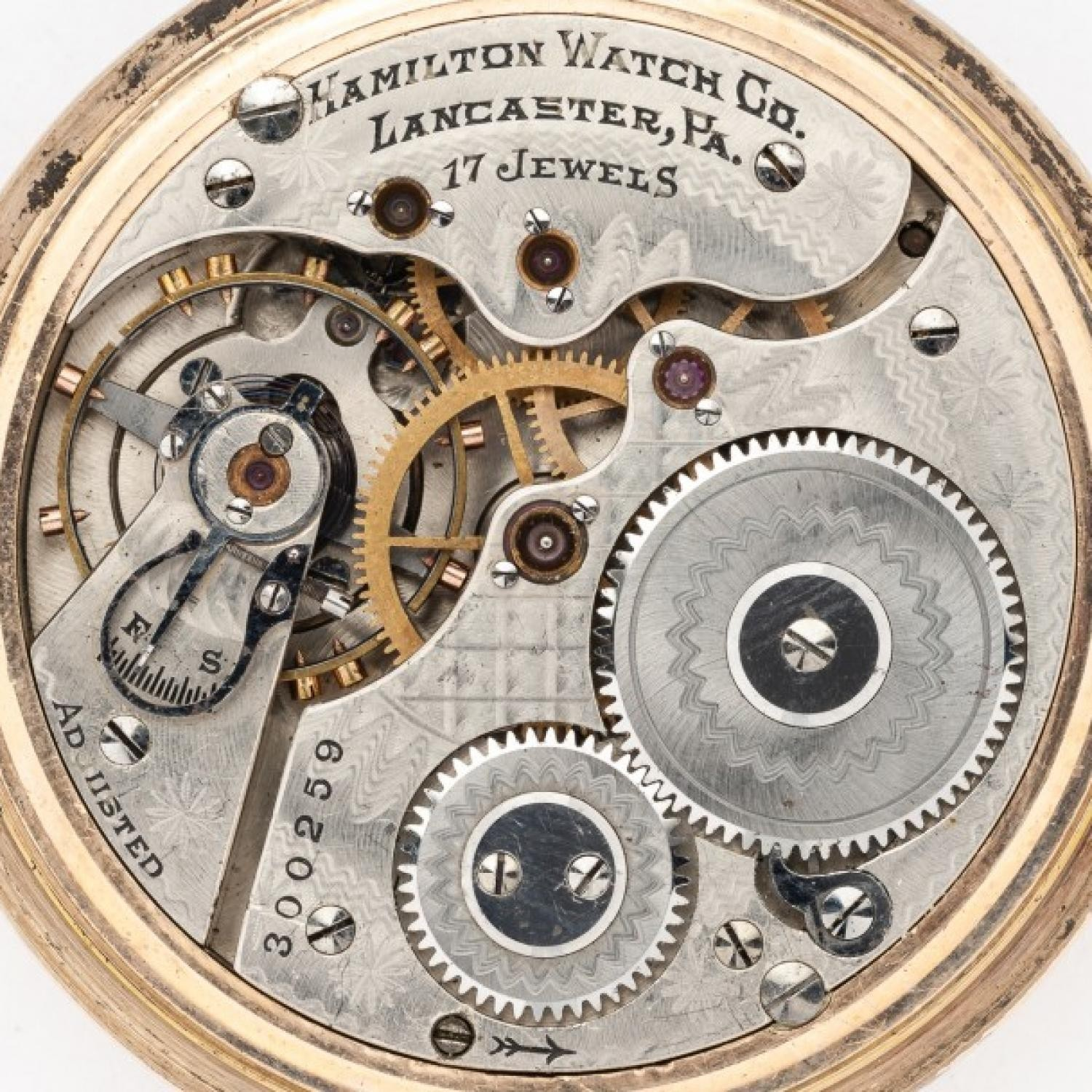 Image of Hamilton 972 #300259 Movement