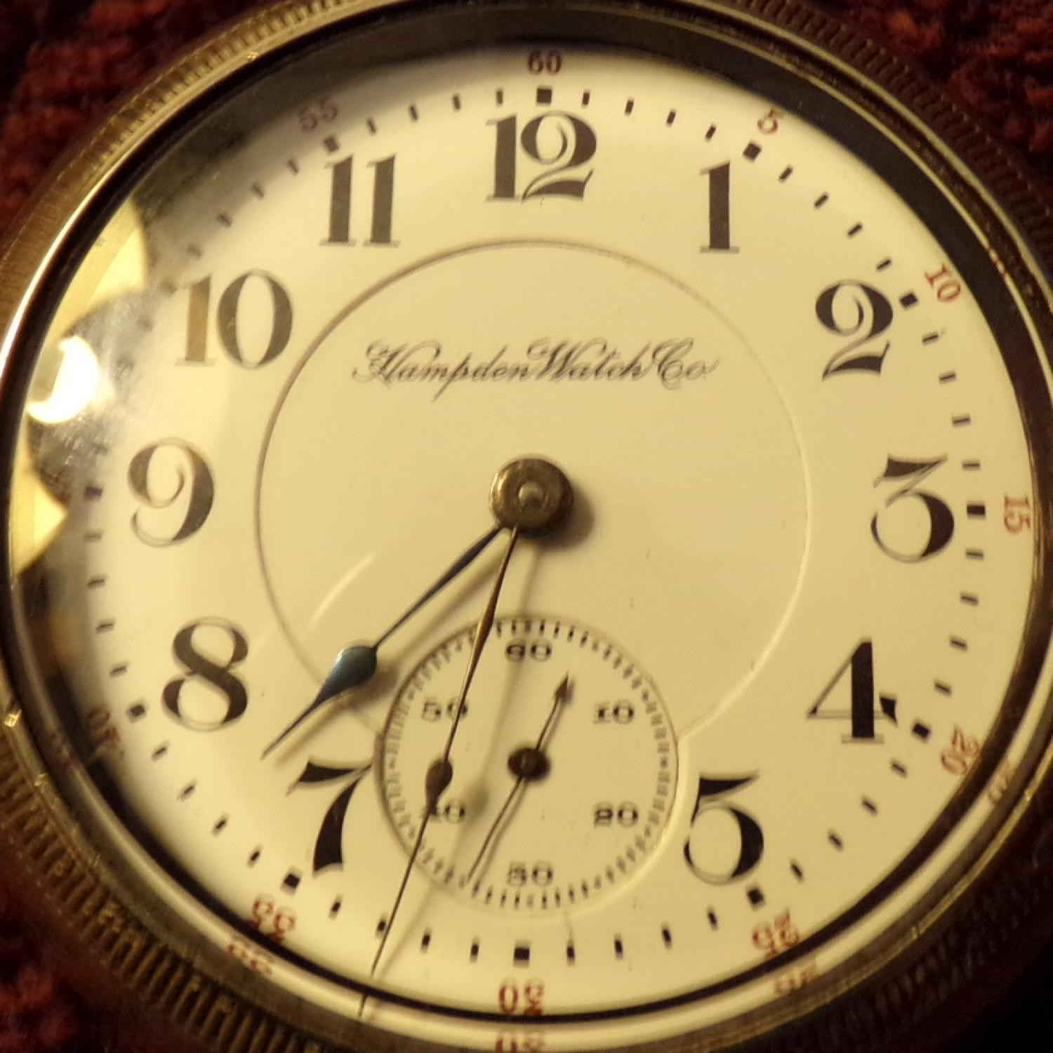 Image of Hampden The Dueber Watch Co. #2195957 Dial