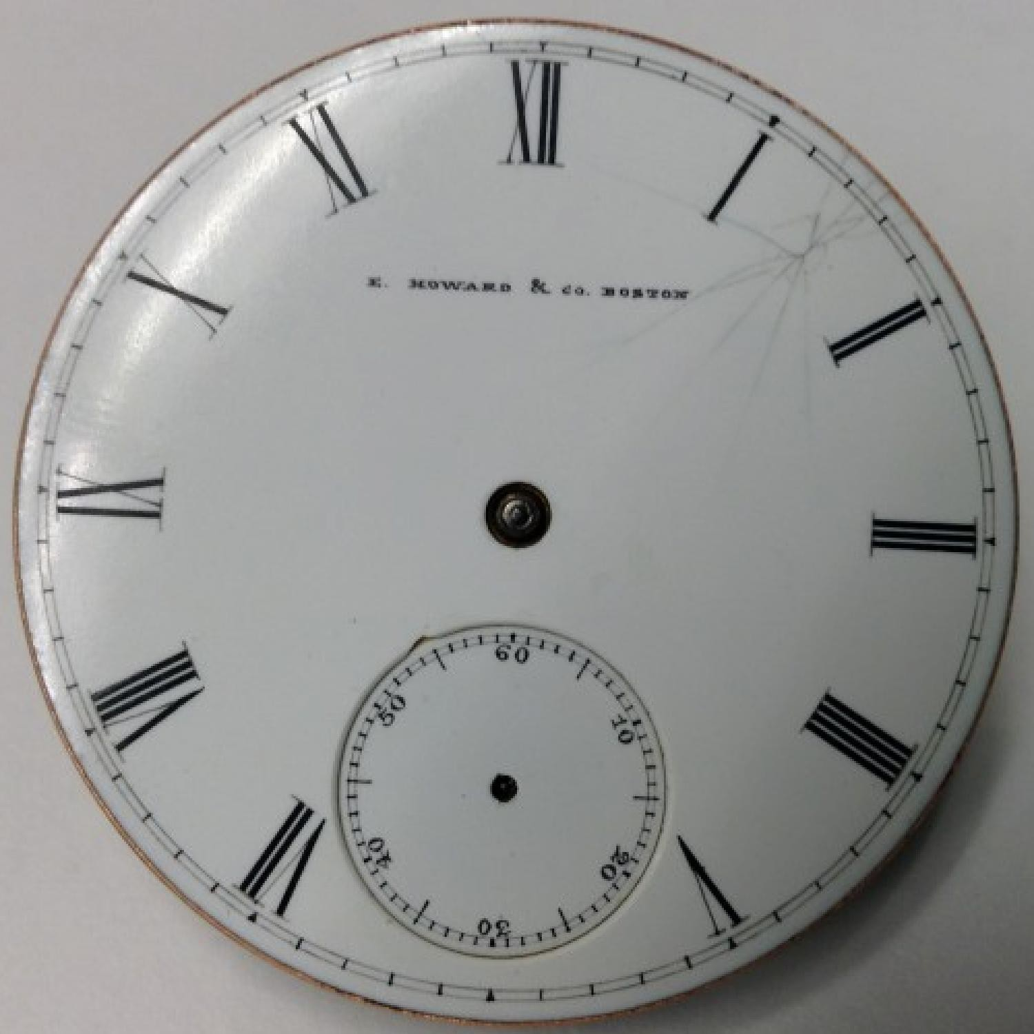Image of E. Howard & Co. Series III #11607 Dial