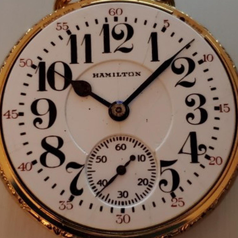 Image of Hamilton 992 #2488894 Dial