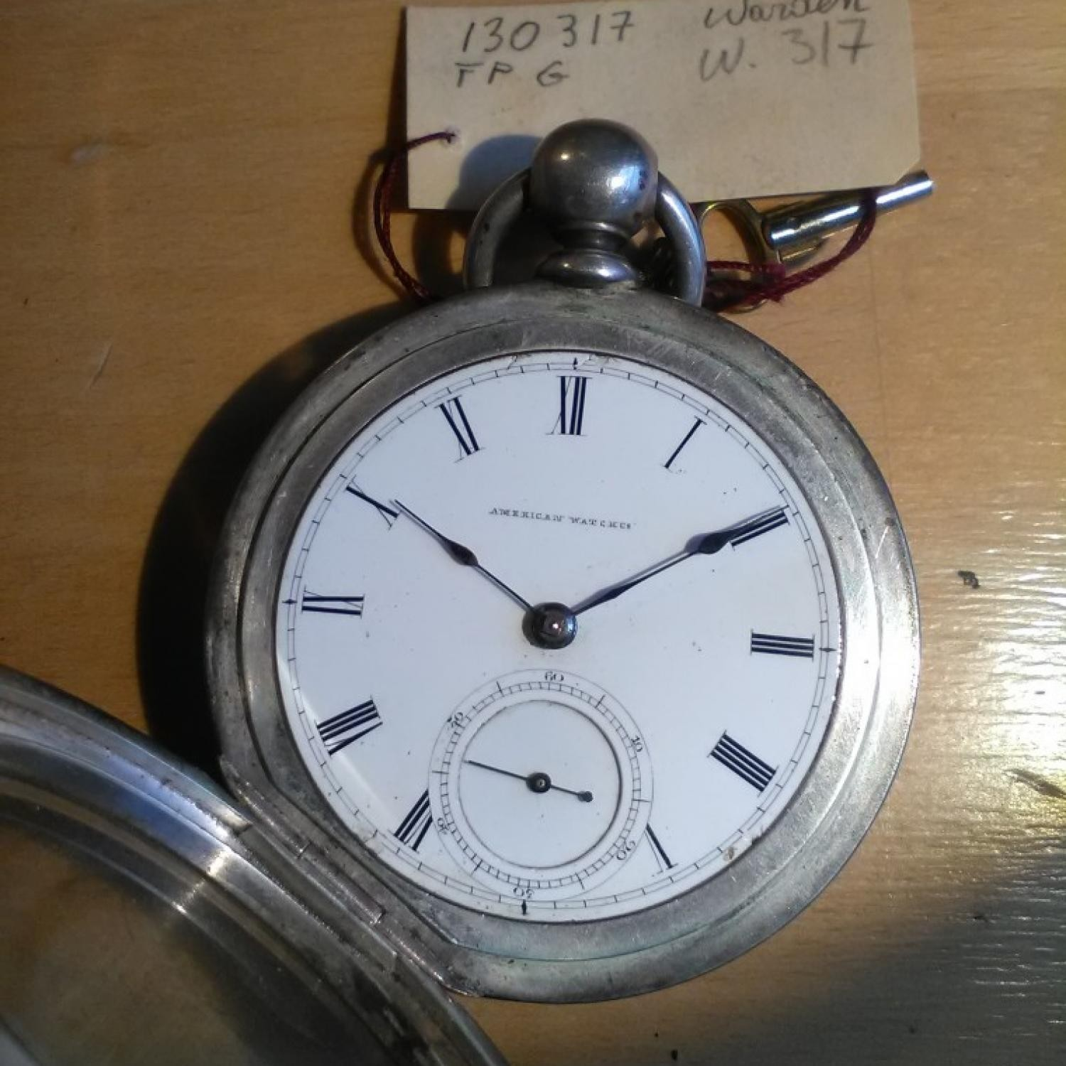 Image of Waltham P.S. Bartlett #430317 Dial