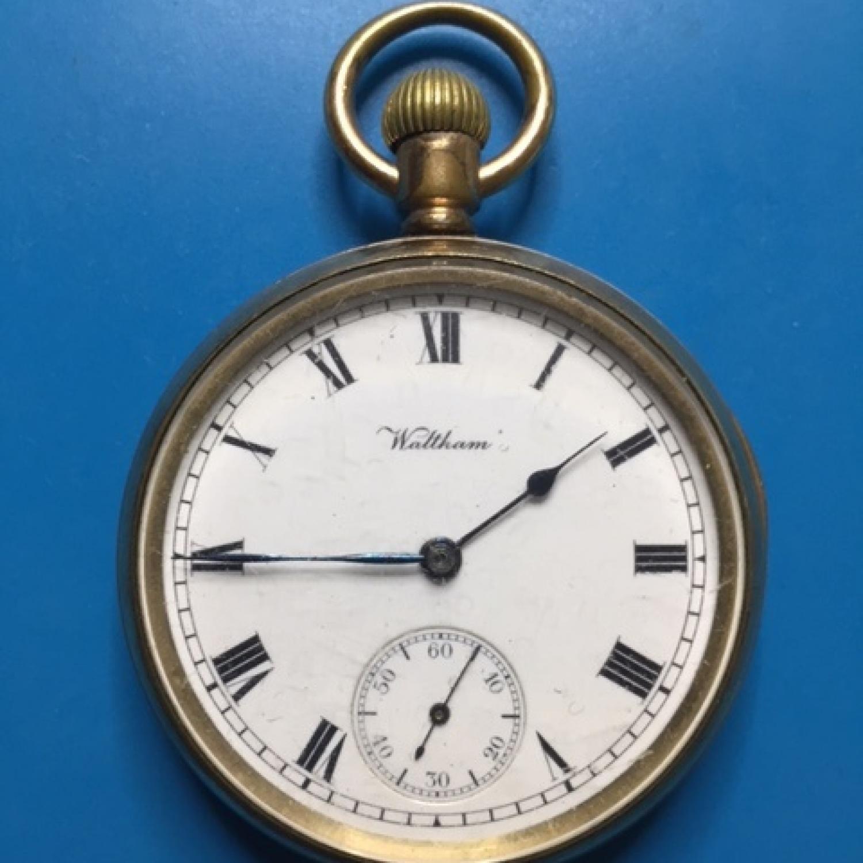 Image of Waltham Traveler #19372051 Dial