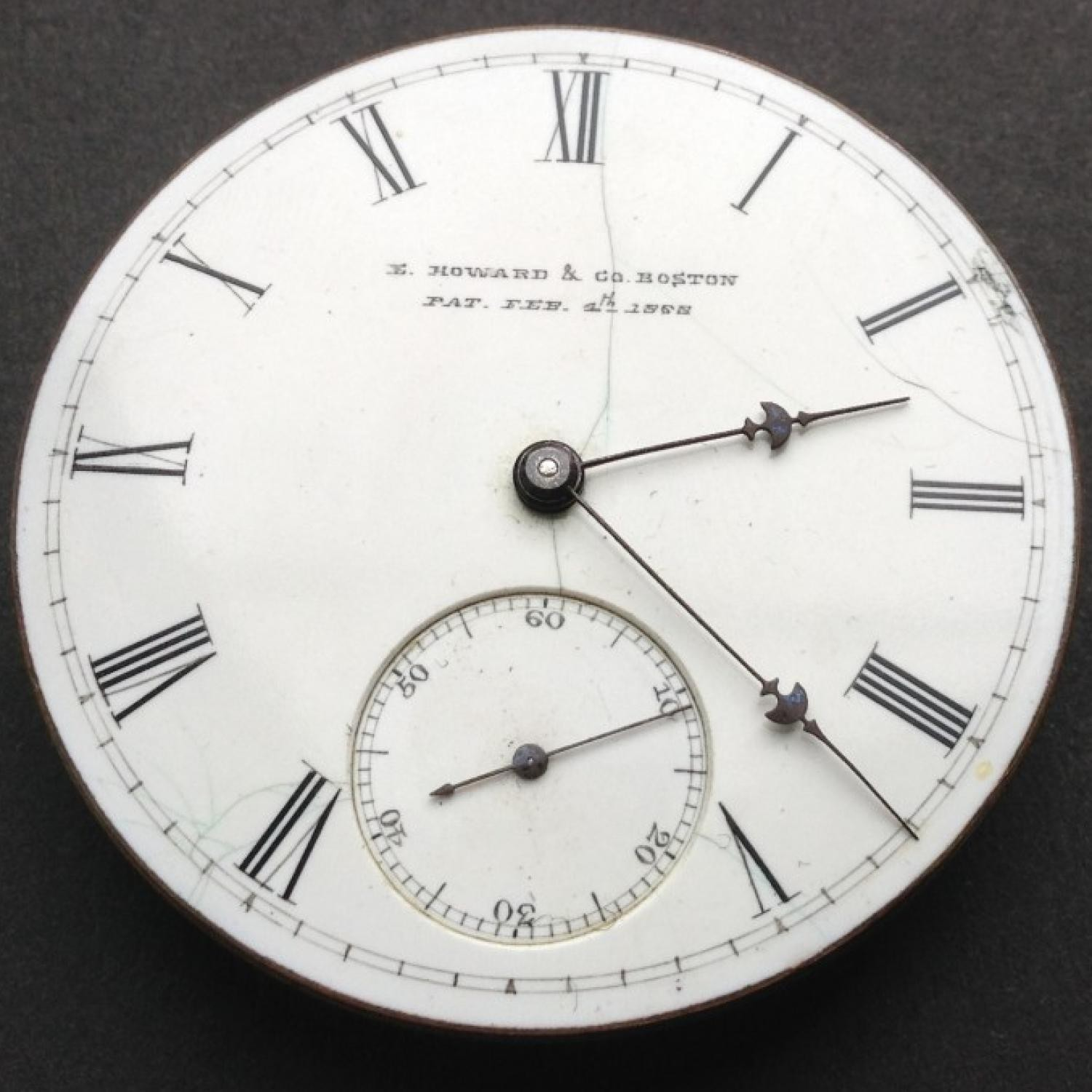 Image of E. Howard & Co. Series IV #34665 Dial