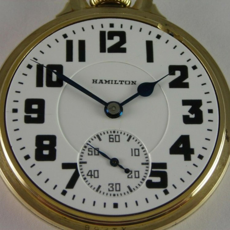 Image of Hamilton 992E #2613013 Dial