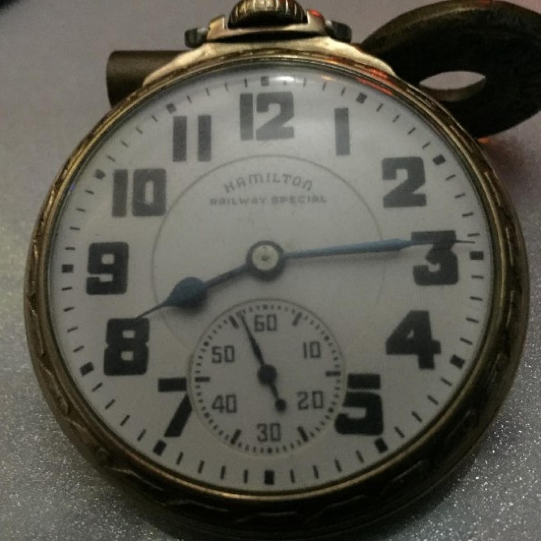 Image of Hamilton 992B #C8609 Dial