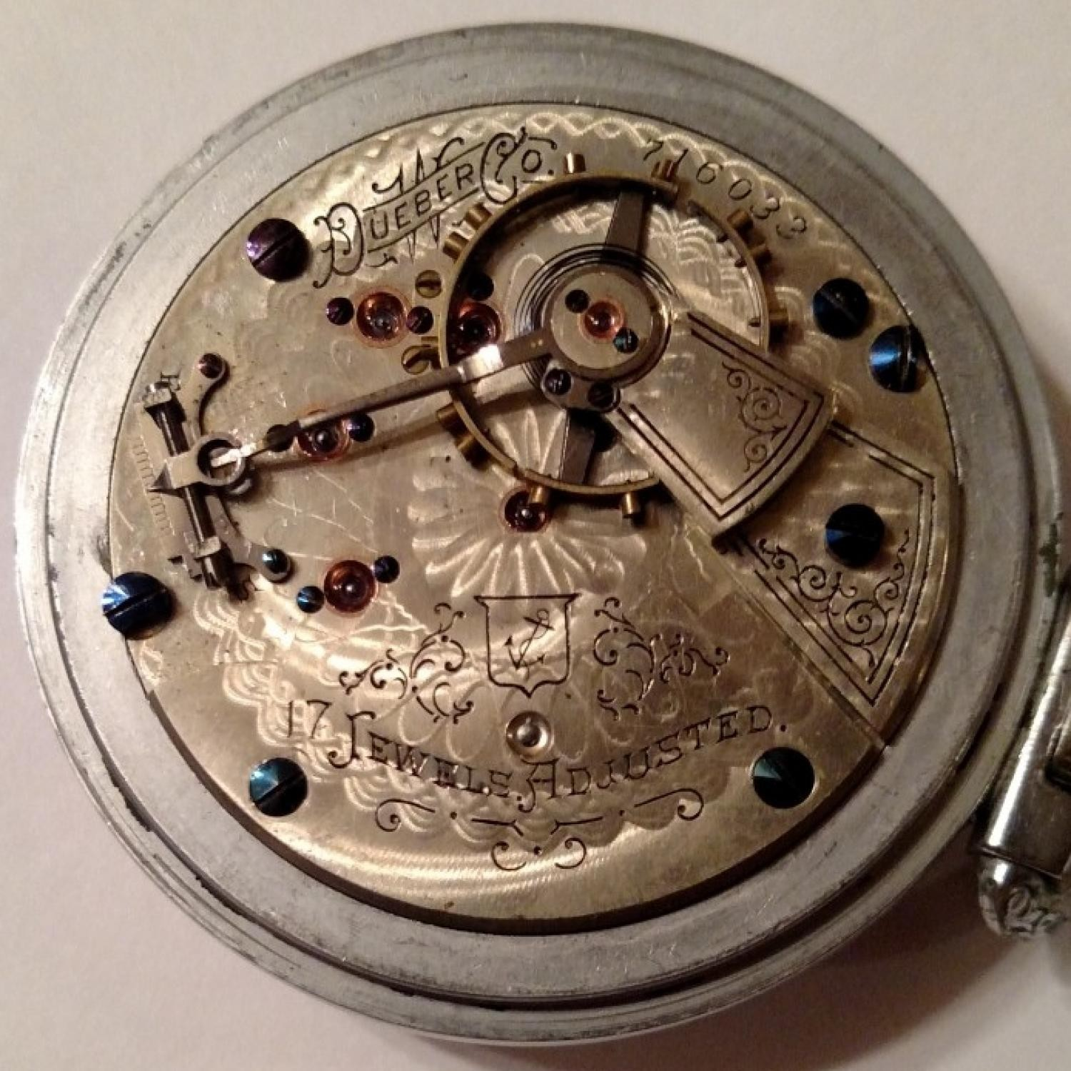 Image of Hampden Anchor (in shield) #716033 Movement