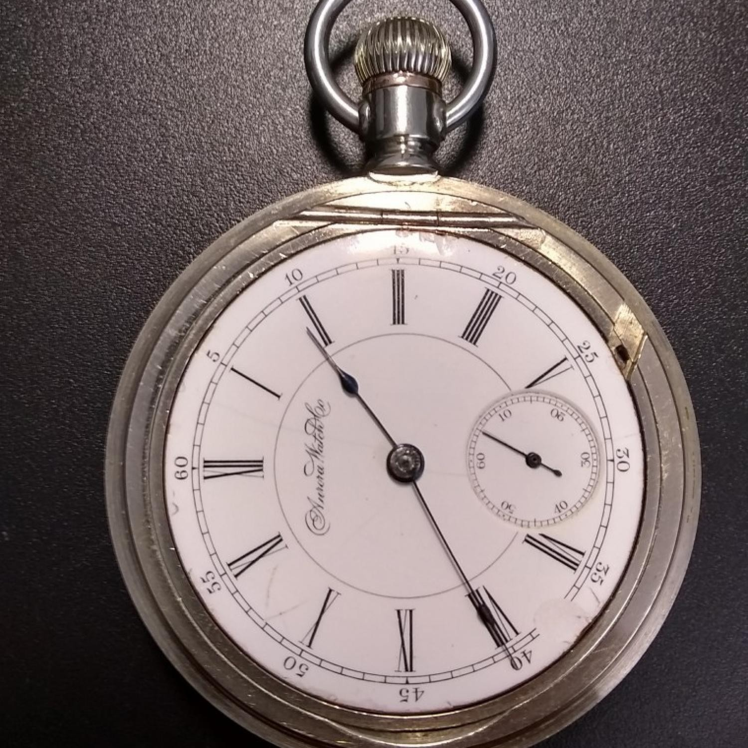 Image of Aurora Watch Co. Unknown #142147 Dial