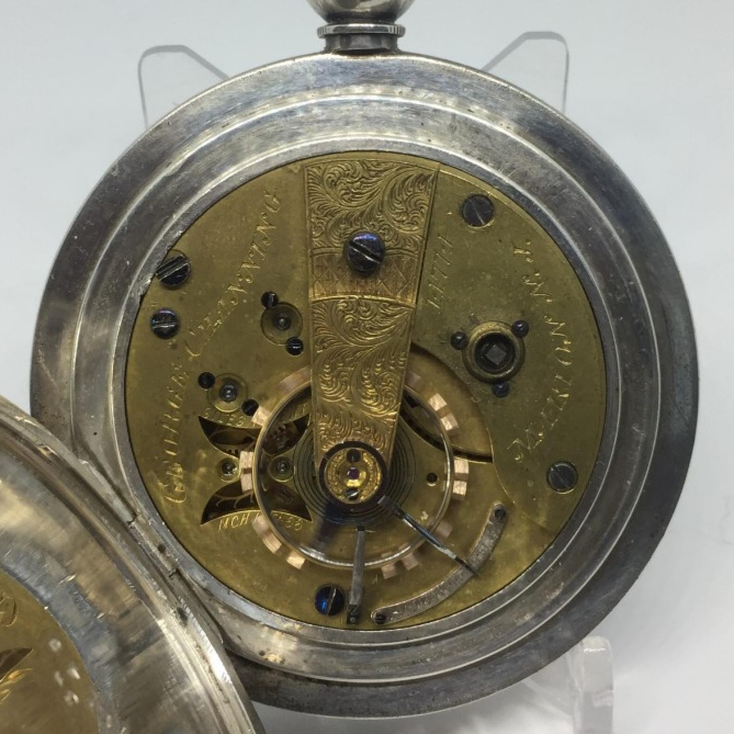 Image of U.S. Watch Co. (Marion, NJ) George Channing #14774 Movement