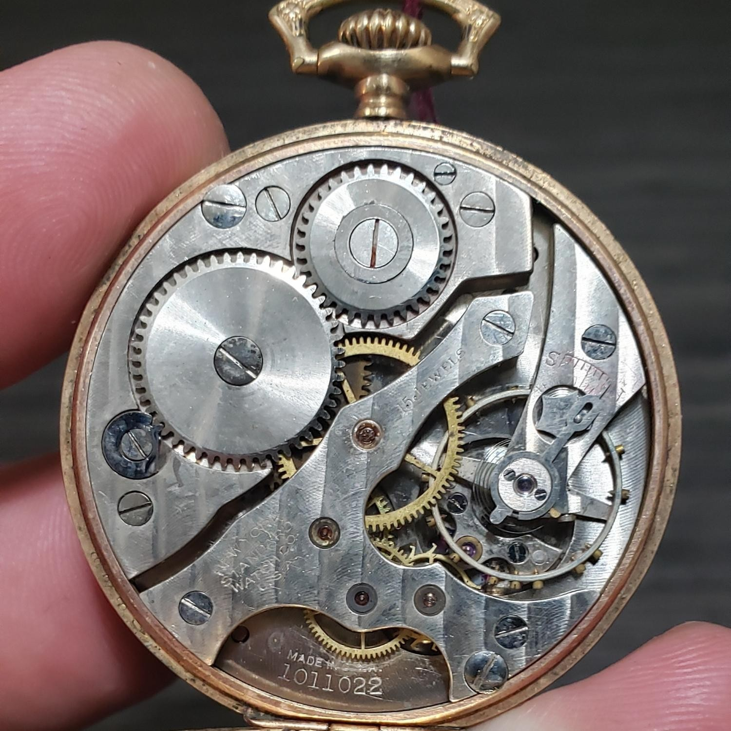 Image of New York Standard Watch Co. 1553 #1011022 Movement
