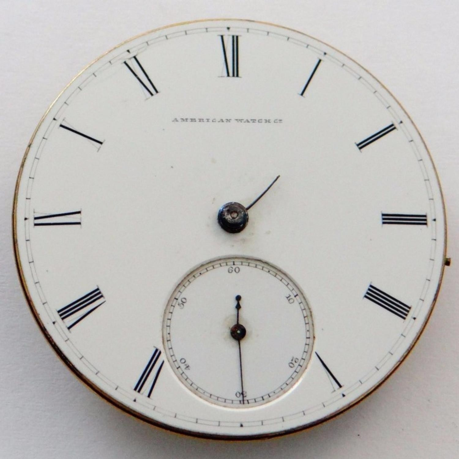 Image of Waltham A.T. & Co. #280948 Dial