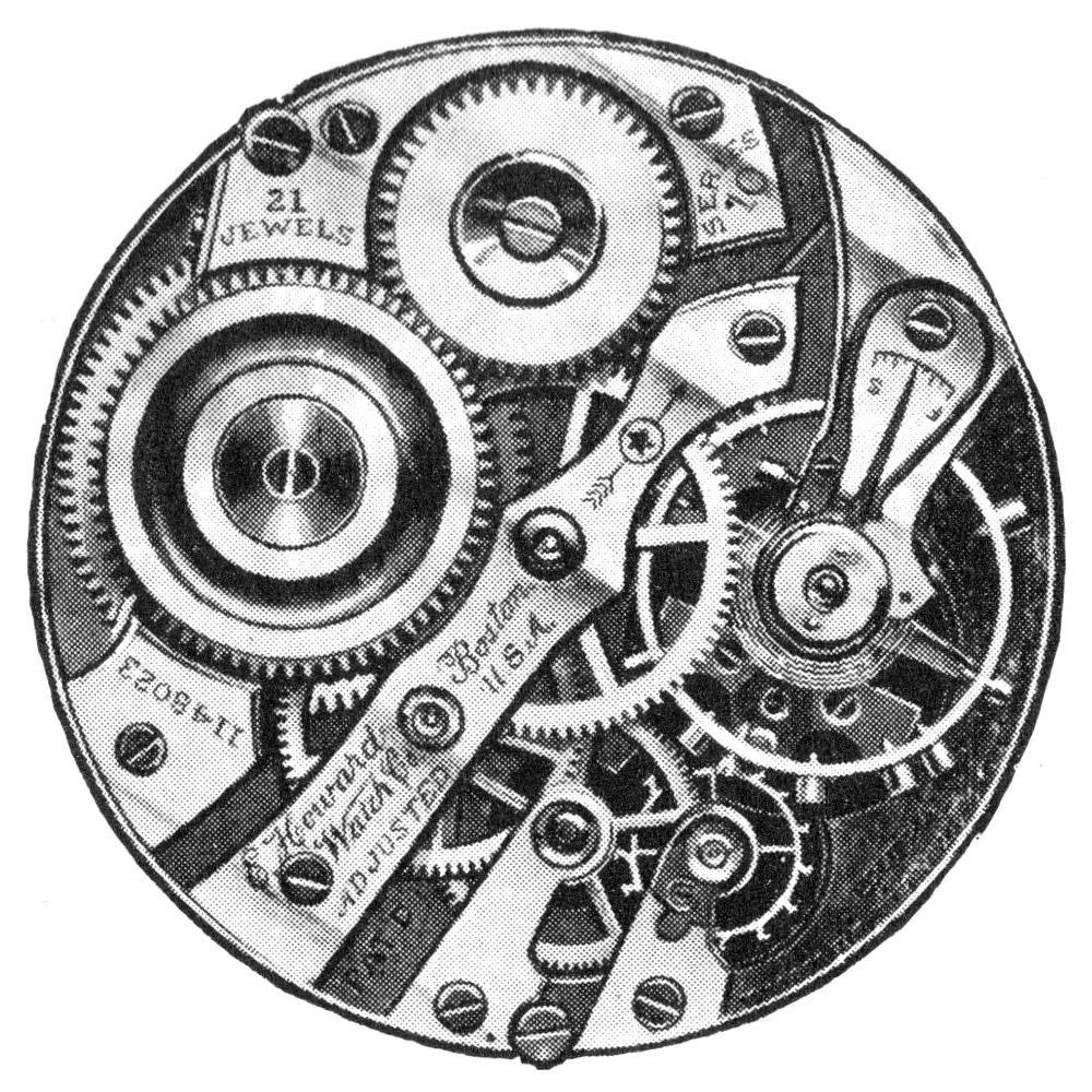 E. Howard Watch Co. (Keystone) Pocket Watch Grade Series 10 #1151753