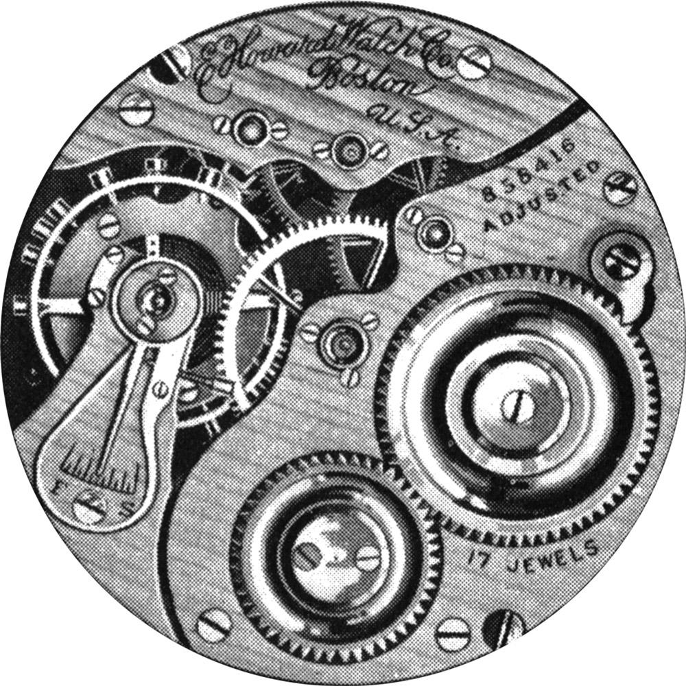E. Howard Watch Co. (Keystone) Grade Series 2 Pocket Watch Movement