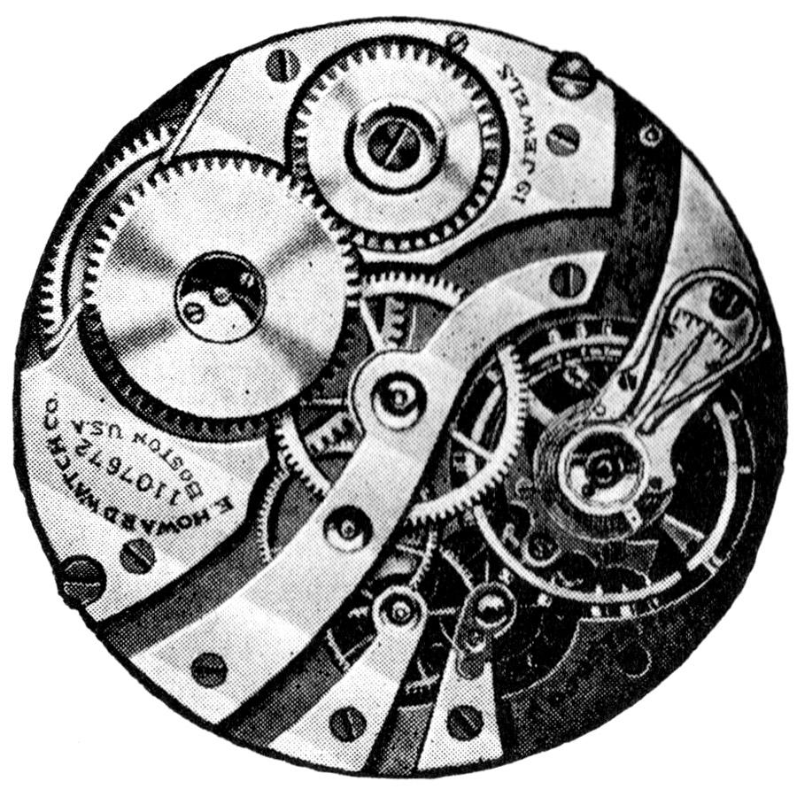E. Howard Watch Co. (Keystone) Grade Series 6 Pocket Watch Movement