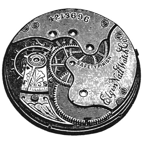 Elgin Pocket Watch Grade 109 #4264715