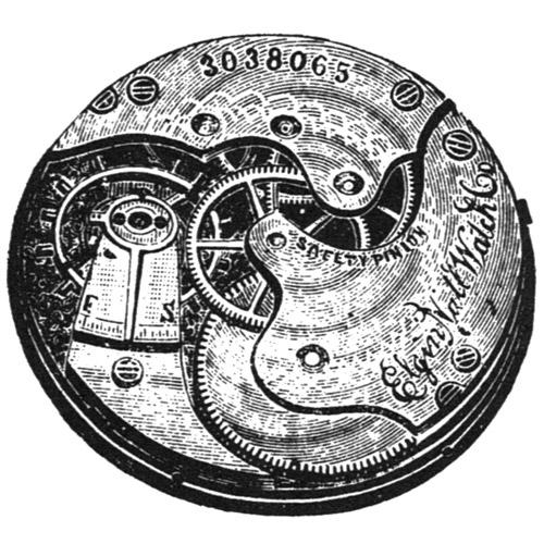 Elgin Grade 110 Pocket Watch Image