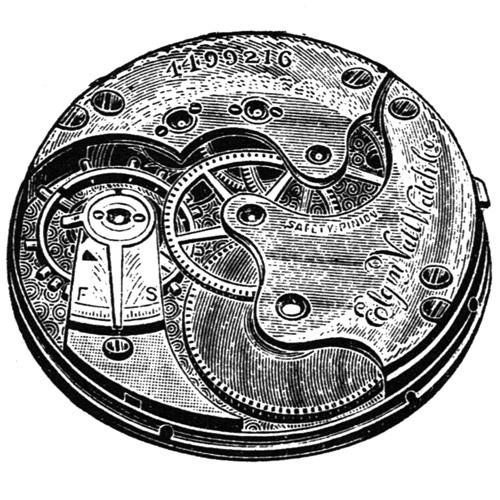 Elgin Grade 120 Pocket Watch Image