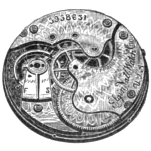 Elgin Grade 130 Pocket Watch Image