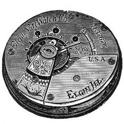 Elgin Grade 141 Pocket Watch Image