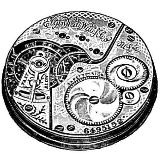 Elgin Grade 152 Pocket Watch Image