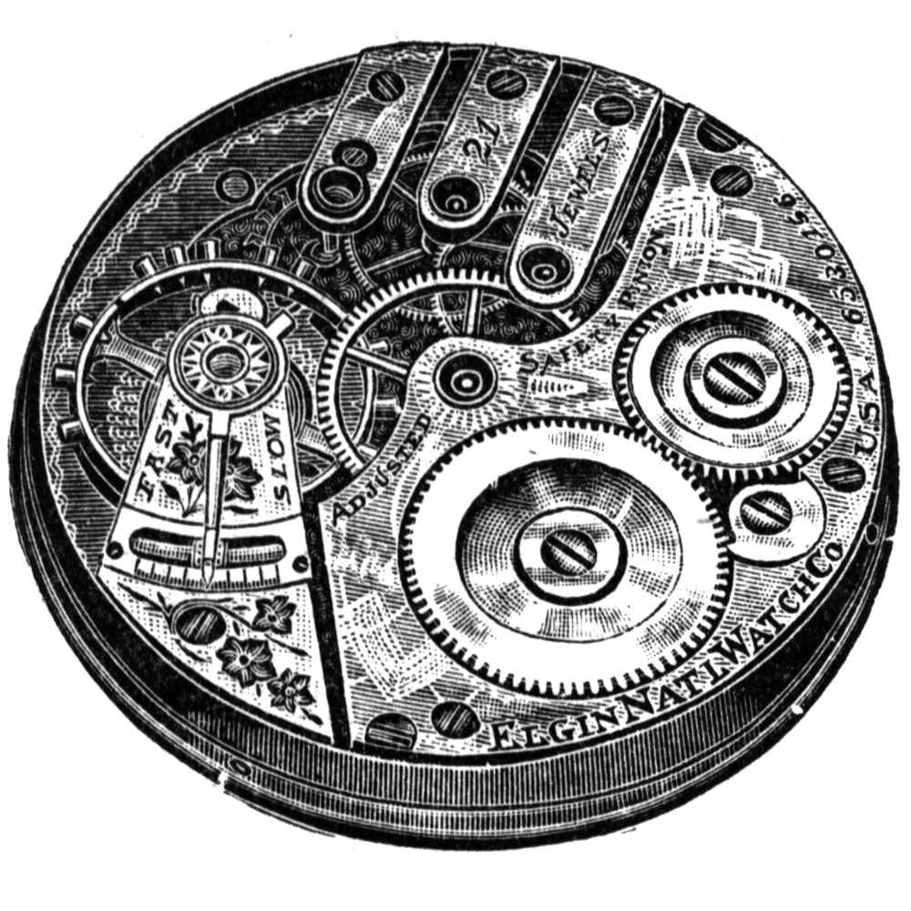 Elgin Pocket Watch Grade 156 #13504069