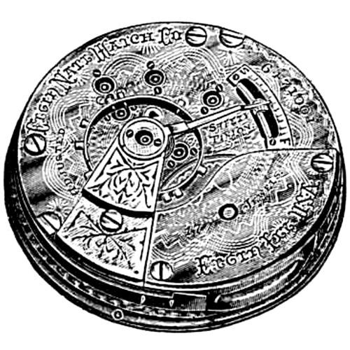 Elgin Grade 164 Pocket Watch Image