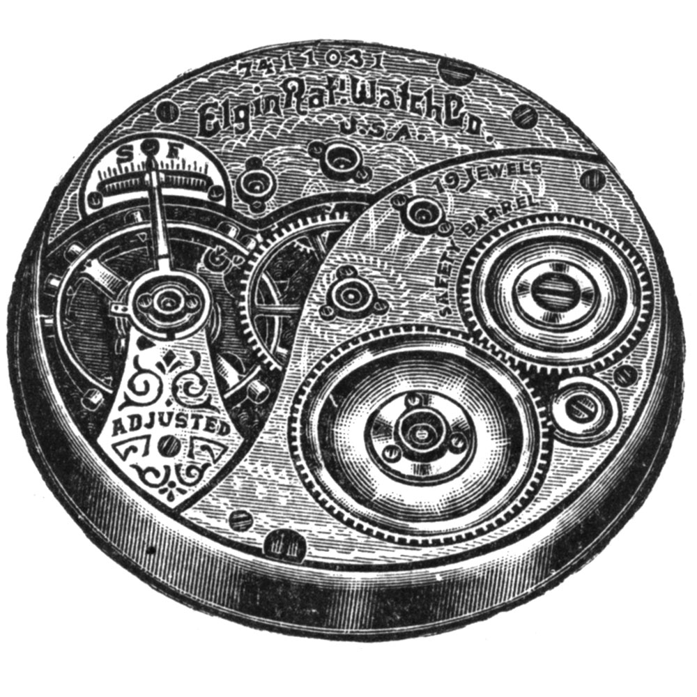 Elgin Grade 189 Pocket Watch Image