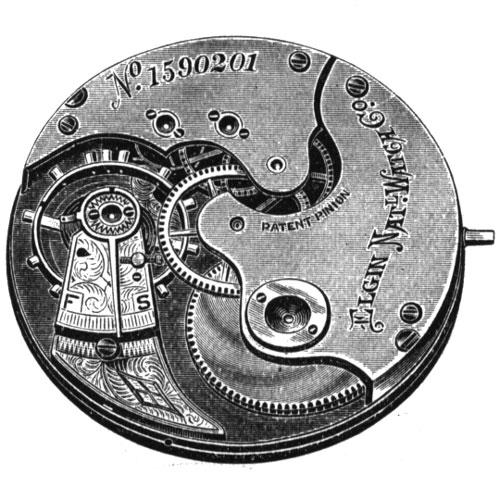 Elgin Pocket Watch Grade 2 #1214067