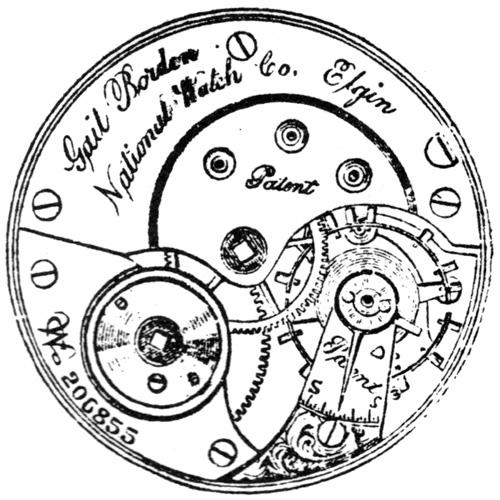 Elgin Pocket Watch Grade 22 #1456180