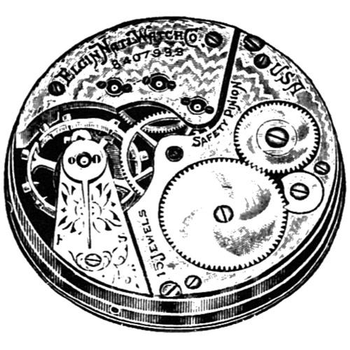 Elgin Grade 220 Pocket Watch Image