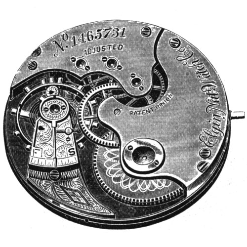 Elgin Grade 3 Pocket Watch Image