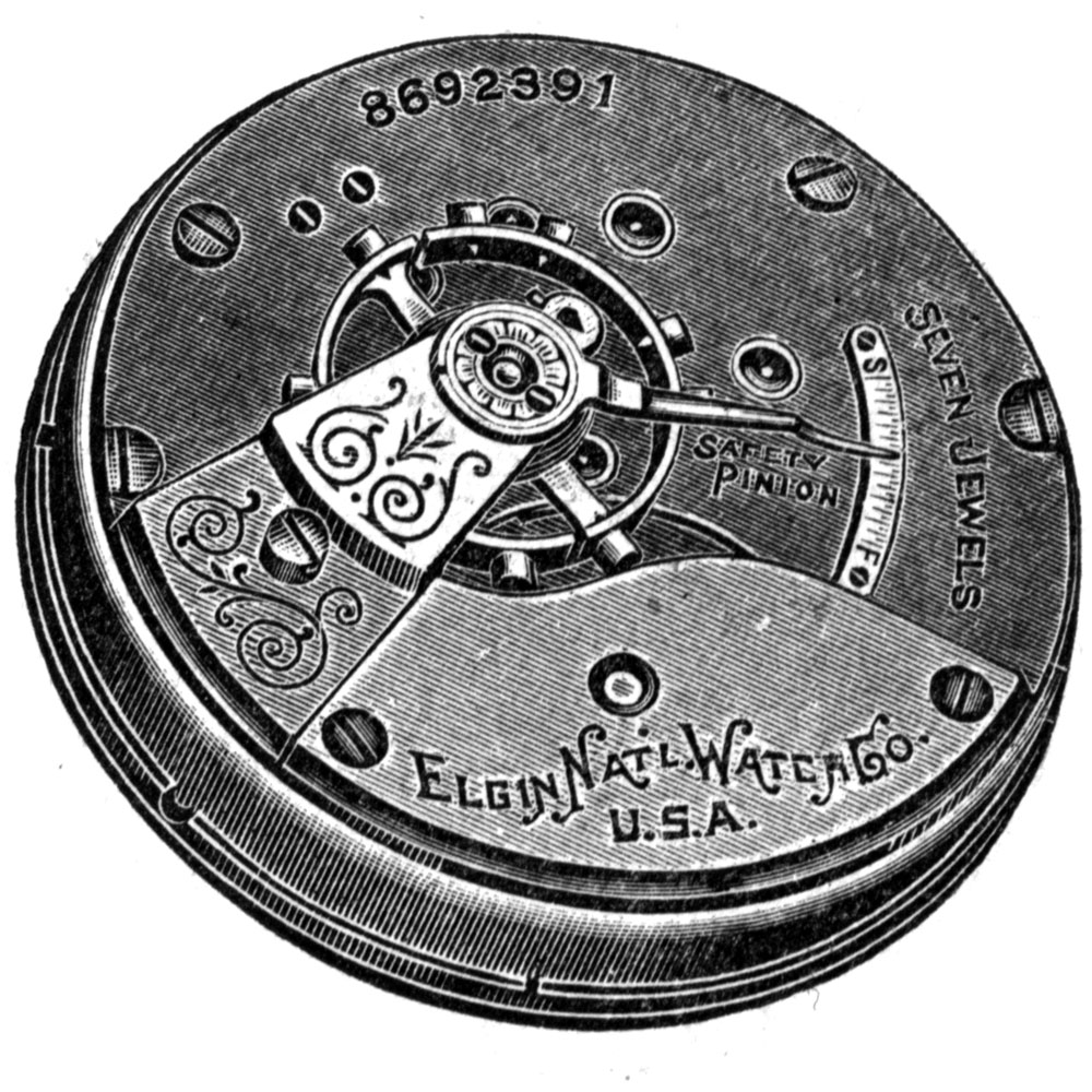Elgin Pocket Watch Grade 309 #11892847