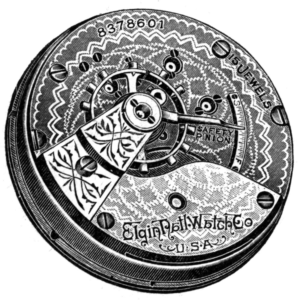 Elgin Grade 316 Pocket Watch Image