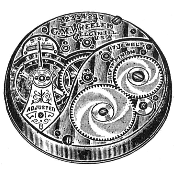Elgin Grade 346 Pocket Watch Movement