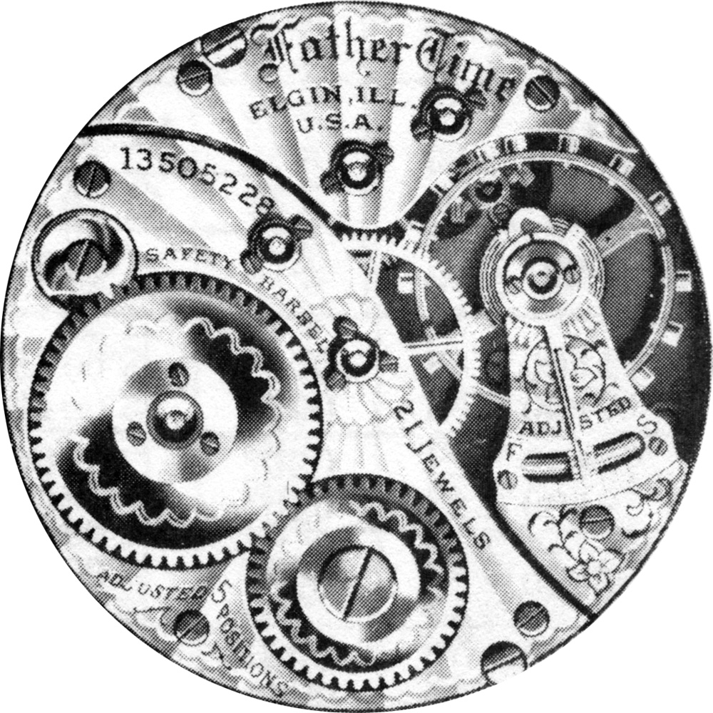 Elgin Grade 367 Pocket Watch Image