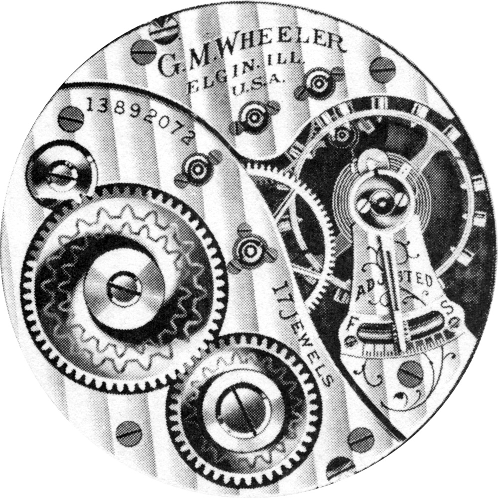 Elgin Grade 369 Pocket Watch Image