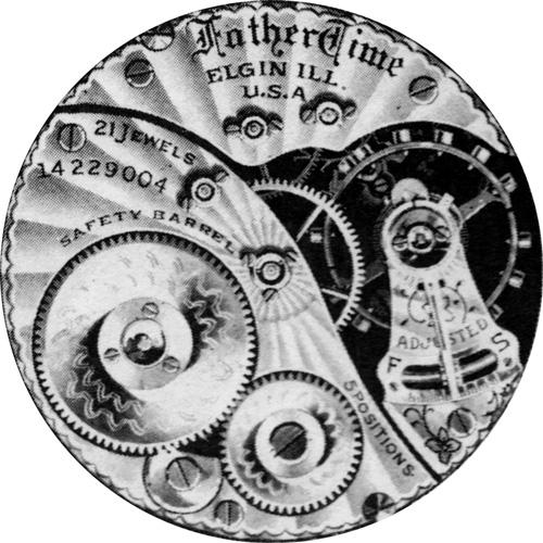 Elgin Grade 374 Pocket Watch Image
