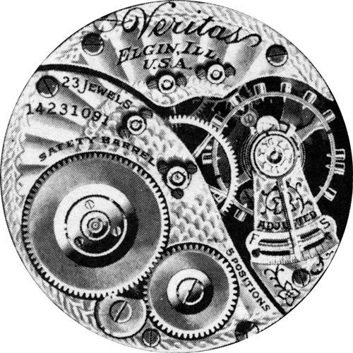 Elgin Grade 376 Pocket Watch Image