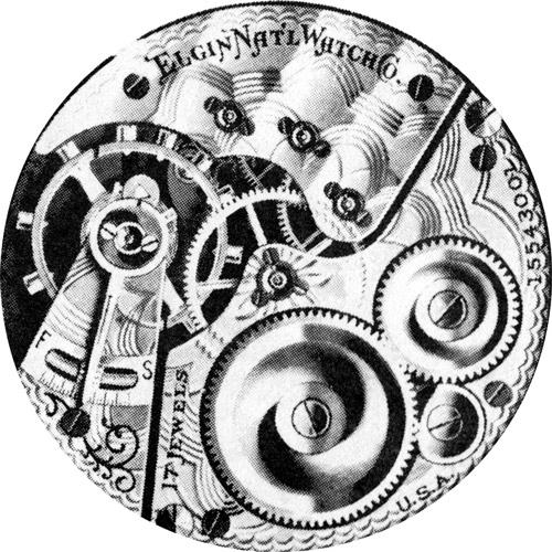 Elgin Pocket Watch Grade 386 #17982019