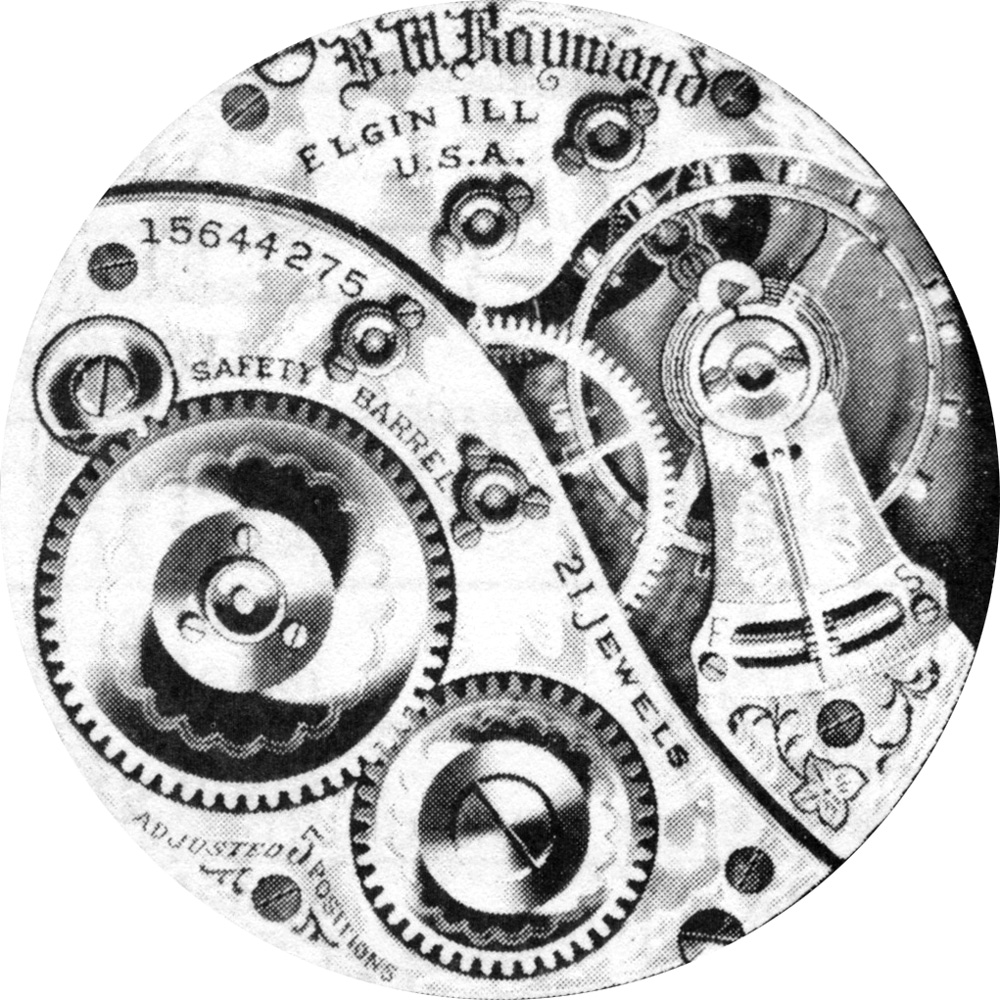 Elgin Grade 390 Pocket Watch Image