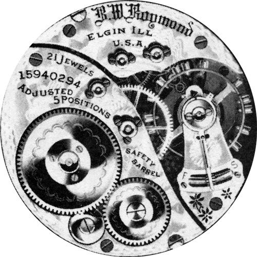 Elgin Pocket Watch Grade 391 #16552493