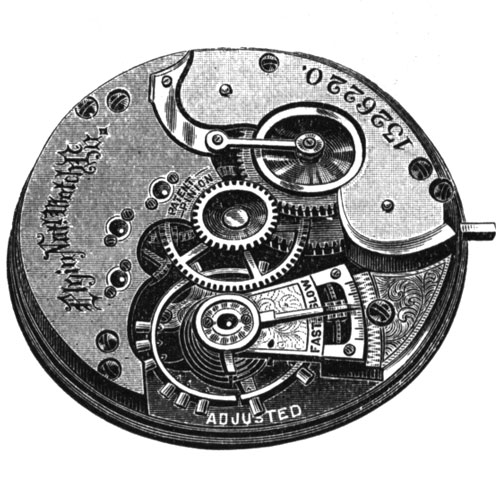 Elgin Pocket Watch Grade 49 #606711