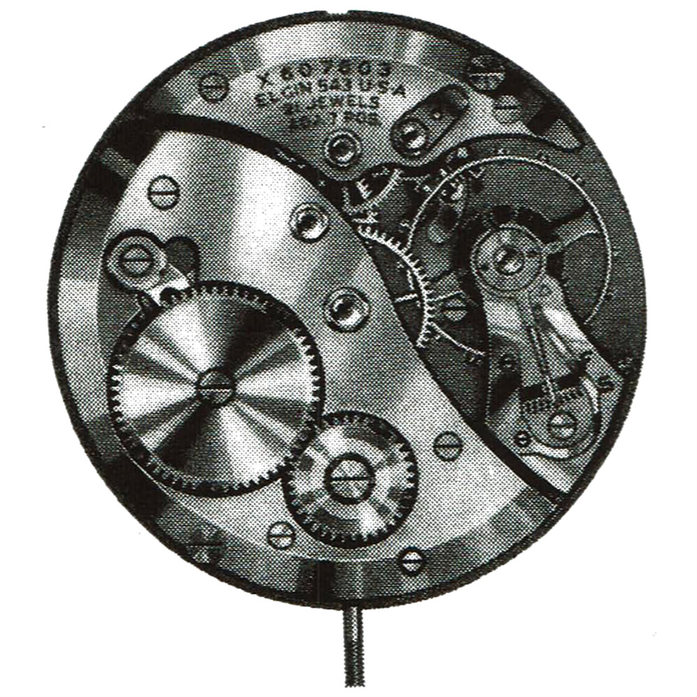 Elgin Grade 546 Pocket Watch Image