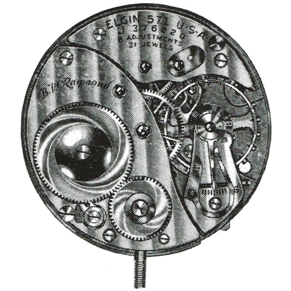 Elgin Pocket Watch Grade 571 #F162792