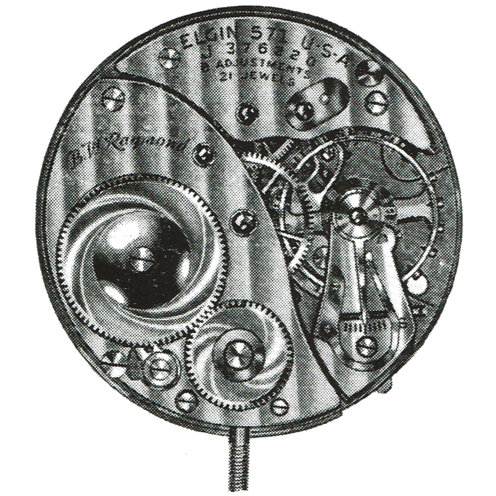 Elgin Grade 573 Pocket Watch
