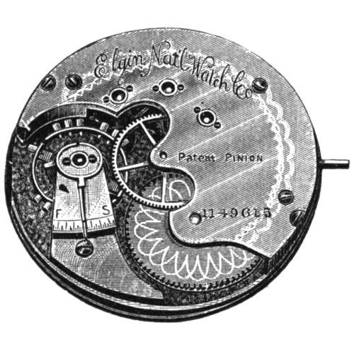 Elgin Grade 67 Pocket Watch Image